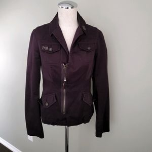 Diesel Brown Cotton Jacket Size Small